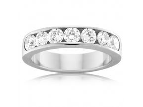 Channel Set Wedding Band 1.05 Carats